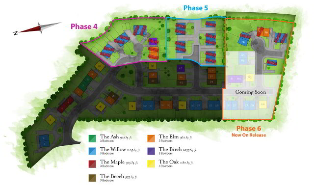Floorplan 1 of The Elm, Millbank Grove, Ballynahinch