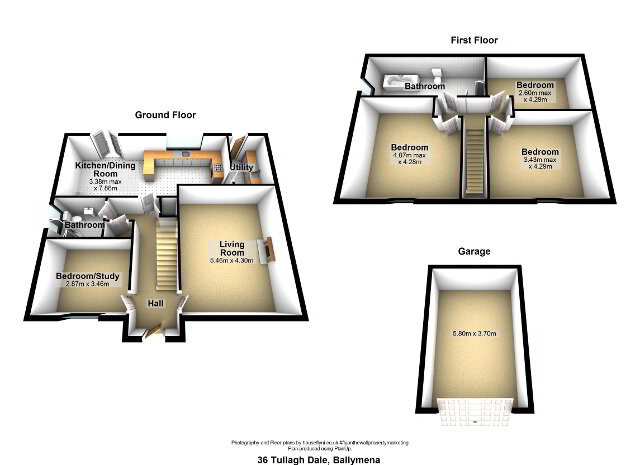 Floorplan 1 of 36 Tullagh Dale, Ballymena