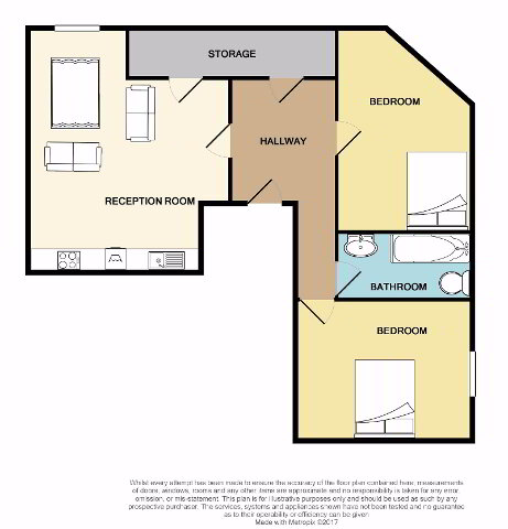 Floorplan 1 of Apt 4, The Works, Baltic Avenue, Belfast