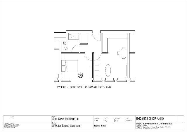 Floorplan 1 of G03 The Residence Water Street, Water Street, Liverpool