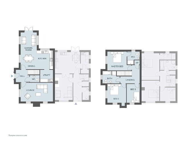 Floorplan 1 of The Chicory (Lh), Larden Meadows, Donaghmore, Dungannon