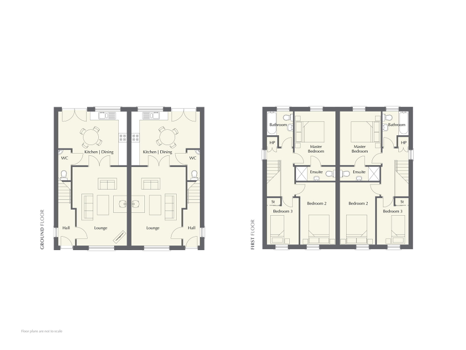 Floorplan 1 of The Fairbairn, Hansons Hall, Templepatrick Road, Ballyclare, Newtownabbey