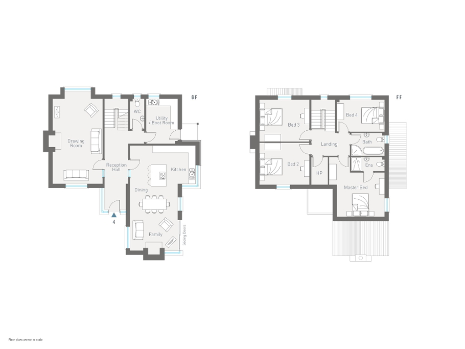 Floorplan 1 of The Stephenson, Dunadry Gate Smart Homes, Dunadry Road, Dunadry