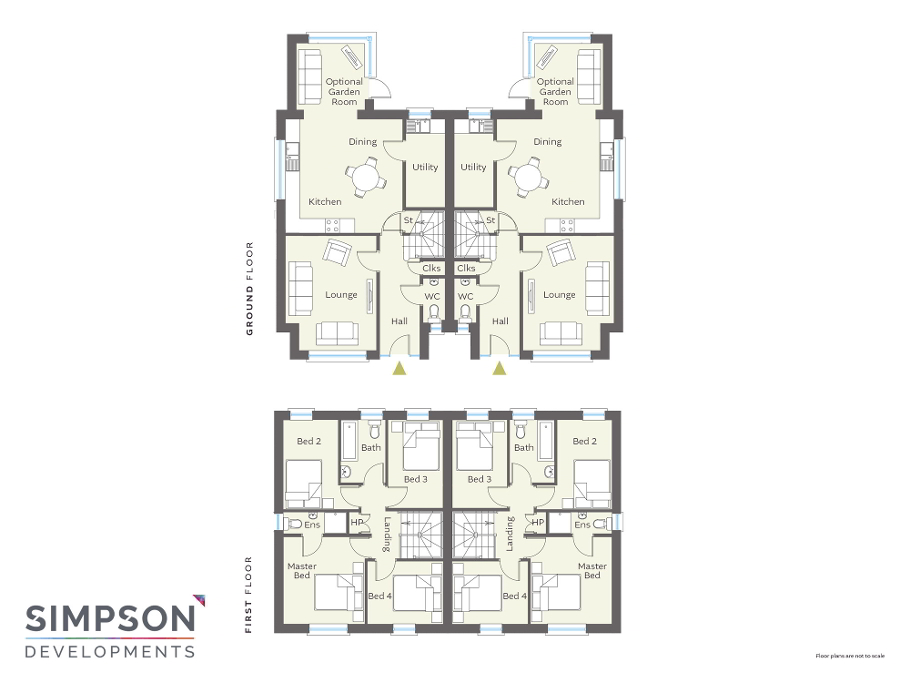 Floorplan 1 of The Jackson, Petticrew Park, Willendale, Ballyclare