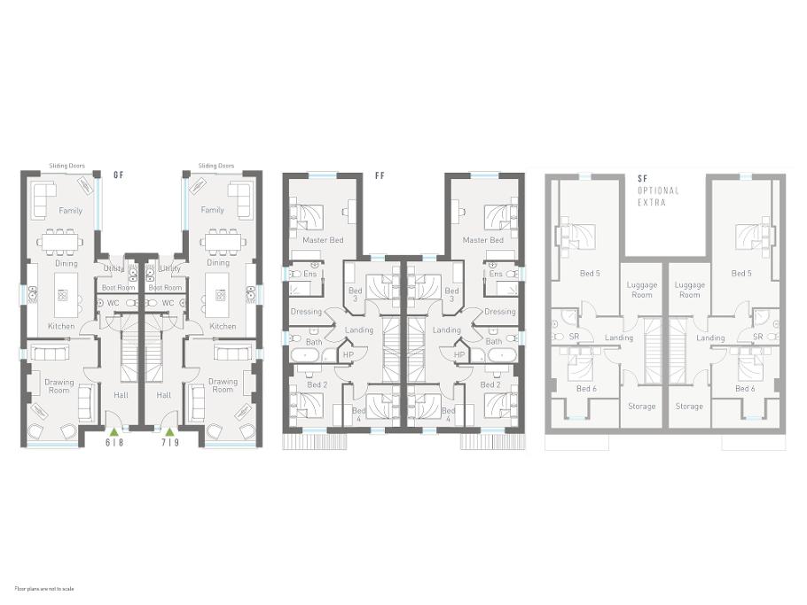 Floorplan 1 of The Rankin, Dunadry Gate Smart Homes, Dunadry Road, Dunadry