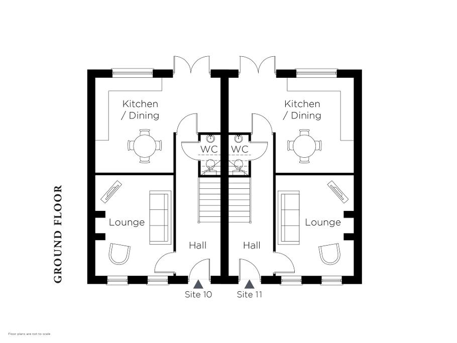 Floorplan 1 of The Curate, Halfpenny Gate Lane, Halfpenny Gate Road, Lisburn