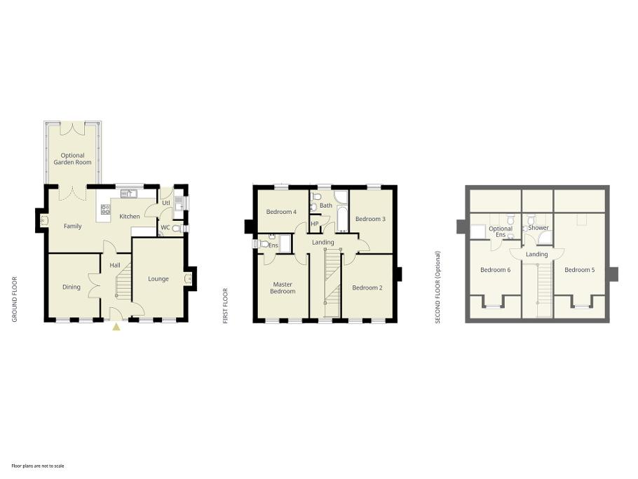 Floorplan 1 of The Entwhistle (Rg), Kirby's Meadow At Moylinney Mill, Muckamore, Antrim
