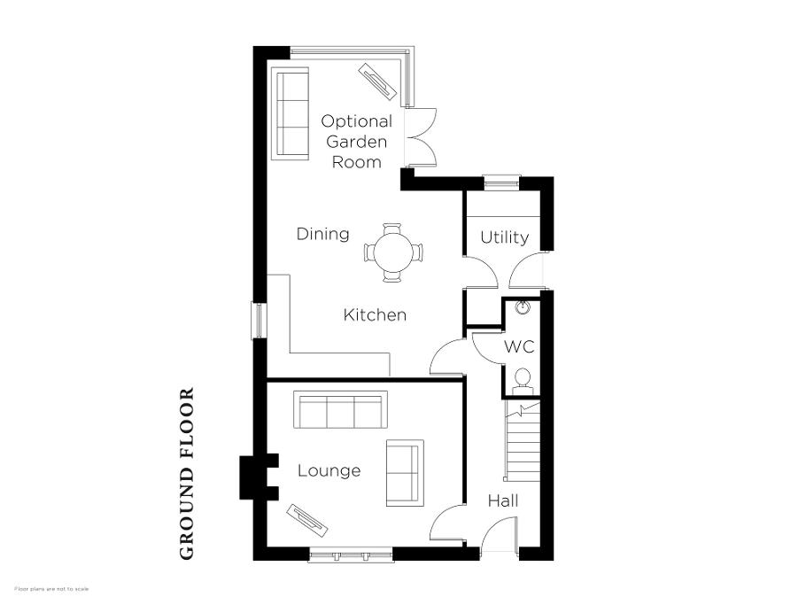 Floorplan 1 of The Deanery, Halfpenny Gate Lane, Halfpenny Gate Road, Lisburn