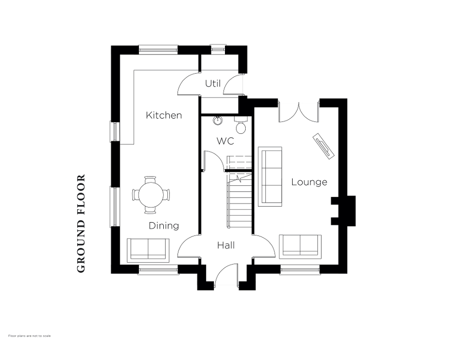 Floorplan 1 of The Parsonage, Halfpenny Gate Lane, Halfpenny Gate Road, Lisburn
