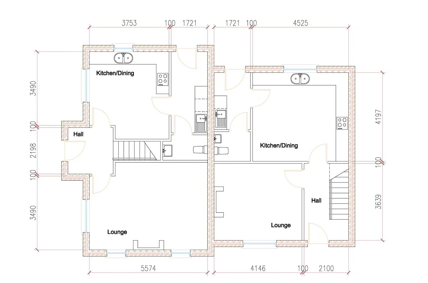 Floorplan 1 of House Type S3, Shanmoy Downs, Eglish, Dungannon