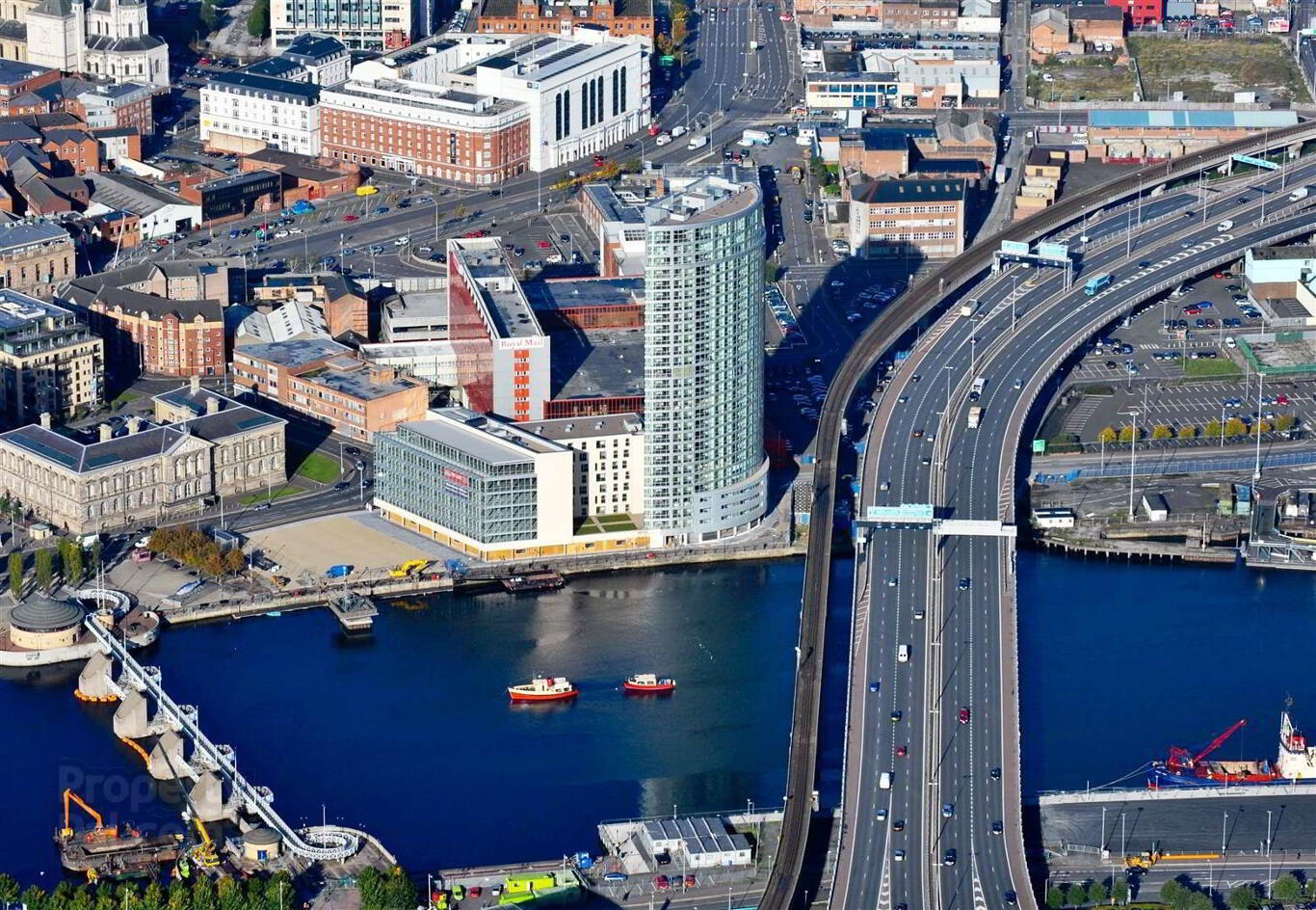 Apartment 20-01 Obel Tower, 62 Donegall Quay, Belfast ...