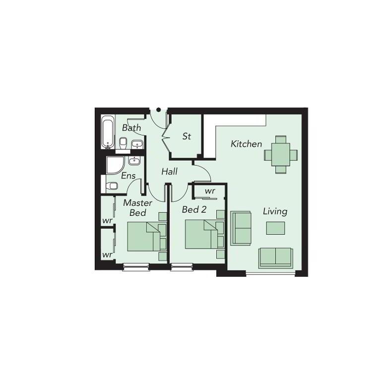 Floorplan 1 of 509, Portland 88, Belfast City Centre, Belfast