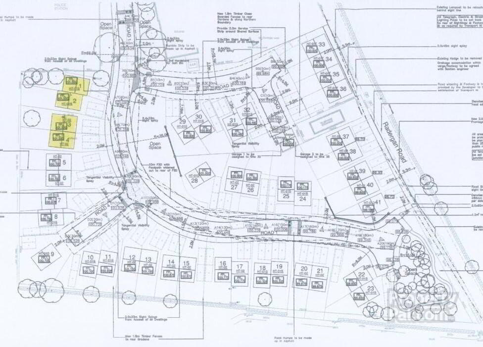 Floorplan 3 of 3 Bedroom Semi-Detached, Hutton Drive, Main Street, Beragh, Omagh
