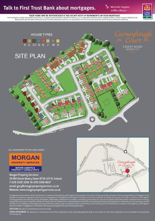 Floorplan 4 of Carneyhough Court, Carneyhough Court, Crieve Road, Newry