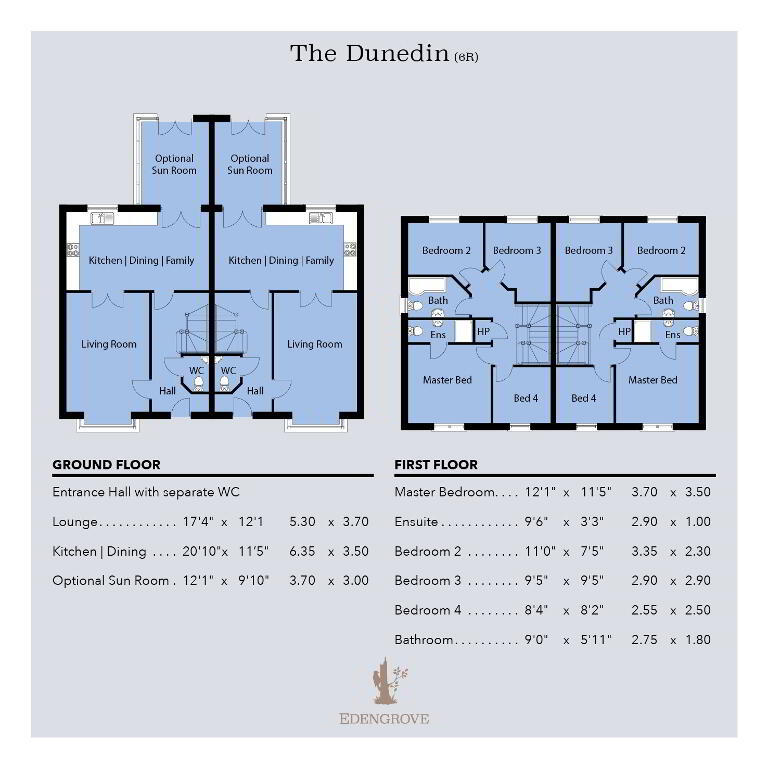 Floorplan 1 of The Dunedin (6R), Edengrove, Edengrove, Ballynahinch
