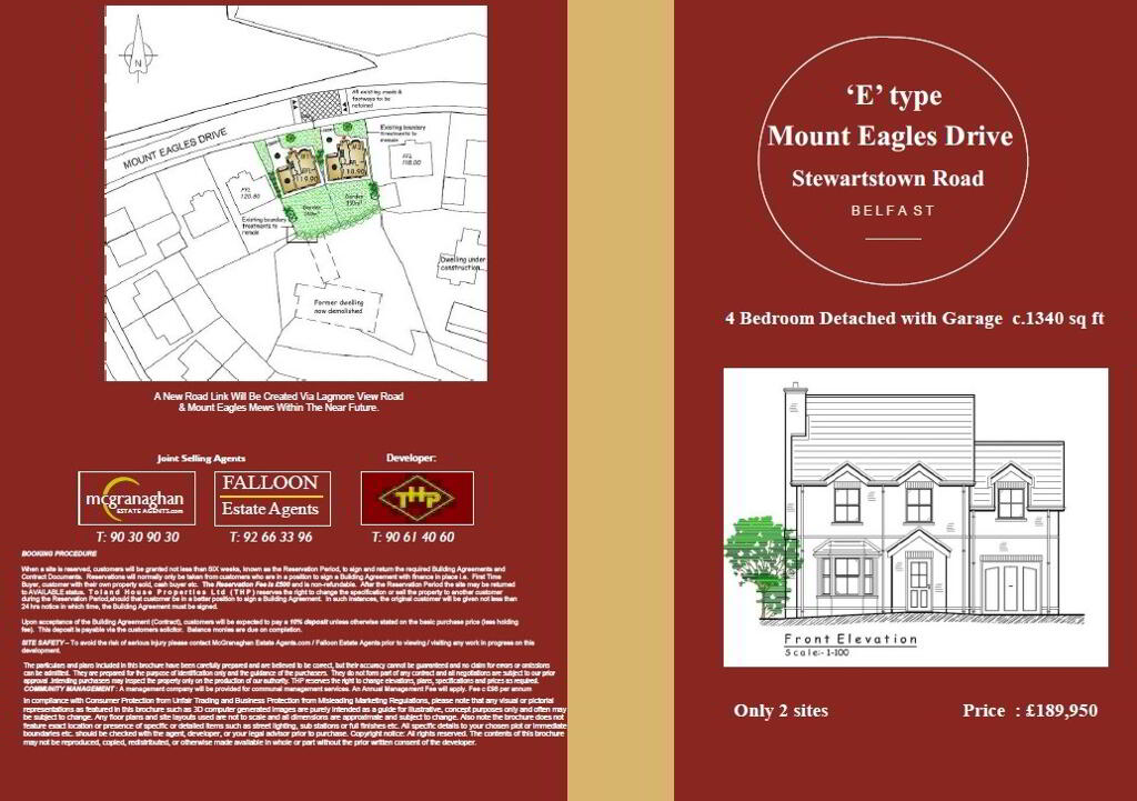 Photo 2 of Site 1, The Close At Mount Eagles, Mount Eagles, Stewartstown Road, Belfast