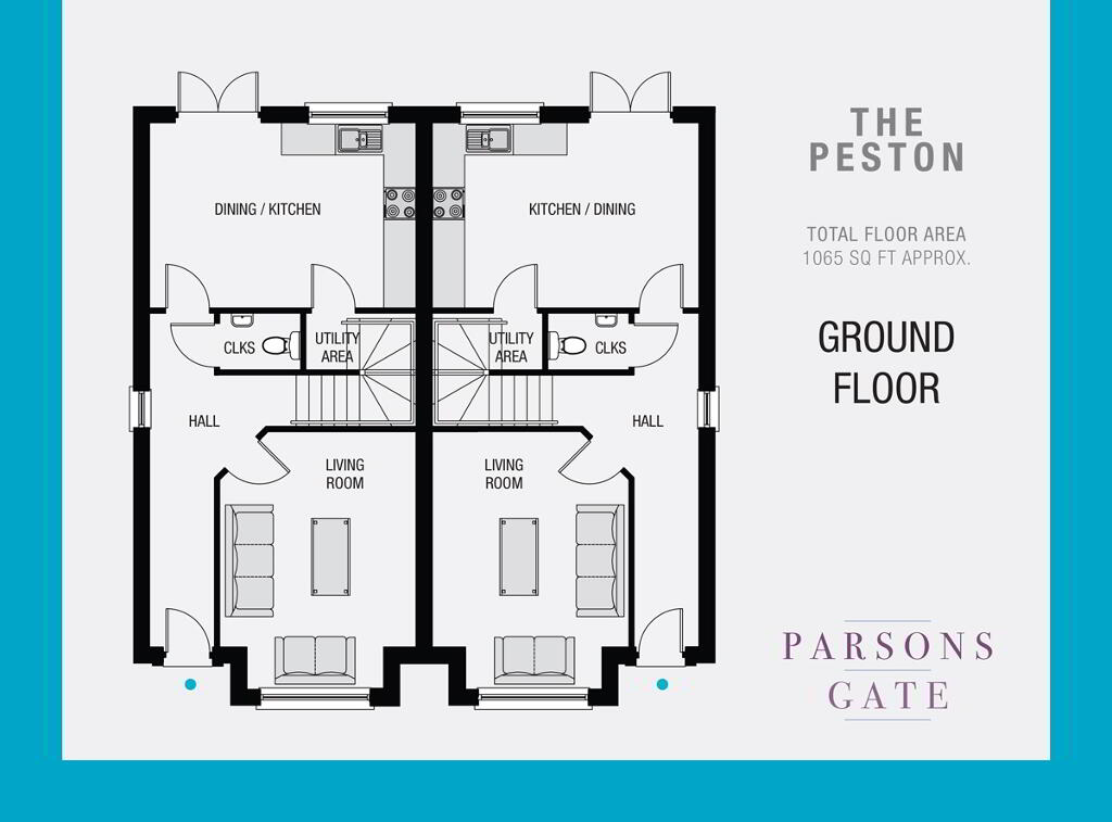 Floorplan 1 of The Peston, Parsons Gate, Armagh Road, Portadown