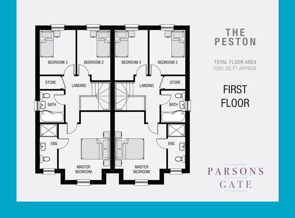 Floorplan 2 of The Peston, Parsons Gate, Armagh Road, Portadown