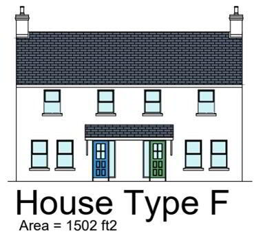 Floorplan 1 of Semi Detached 4 Bed With Sea Views, Corick Close, Manse Road, Kilkeel