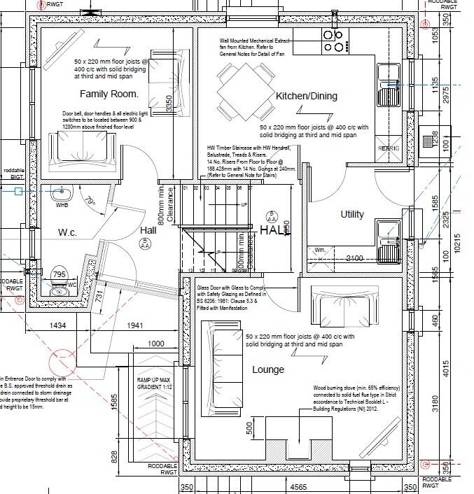Floorplan 2 of Tullyverry Drive, L'Derry
