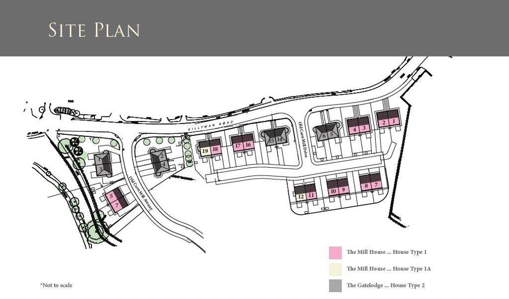 Floorplan 2 of The Gatelodge - House Type 2, Old Corn Mill, Killyman, Dungannon