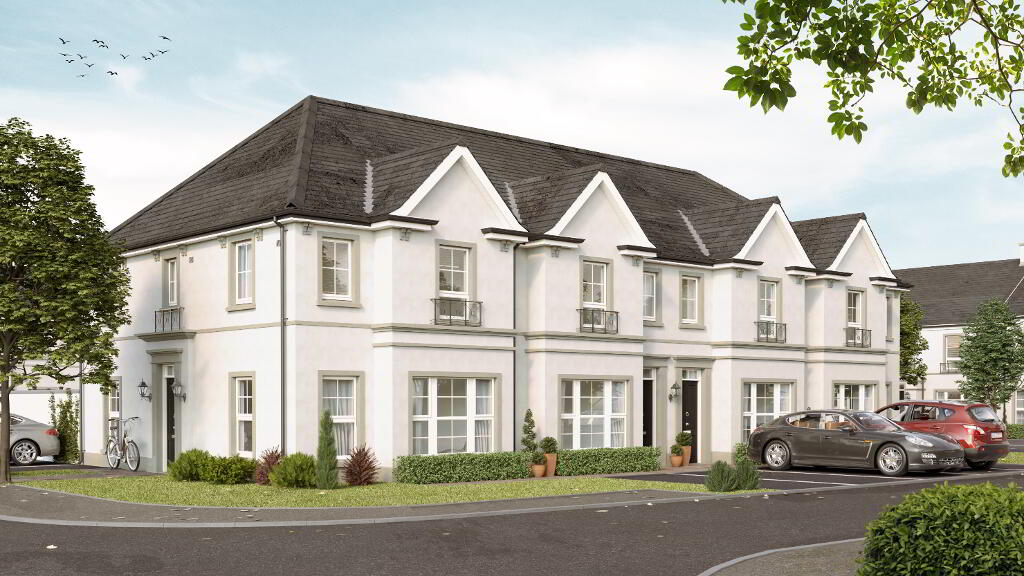 Photo 1 of The Violet (End Townhouse), Garden Square, The Demesne, Hillsborough...Carryduff