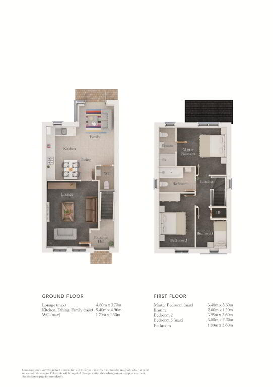 Floorplan 1 of The Aspen, Beech Hill View, Glenshane Road, Derry / Londonderry