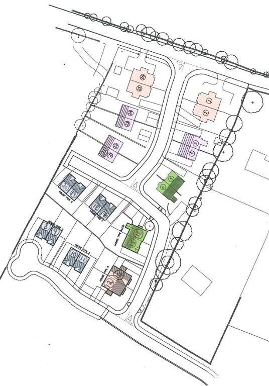 Floorplan 5 of Torrent Glen New Homes, Torrent Glen, Dungannon, Castlecaulfield