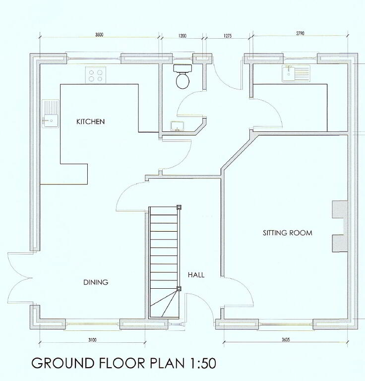 Floorplan 1 of House Type A, Shanmoy Downs, Eglish, Dungannon