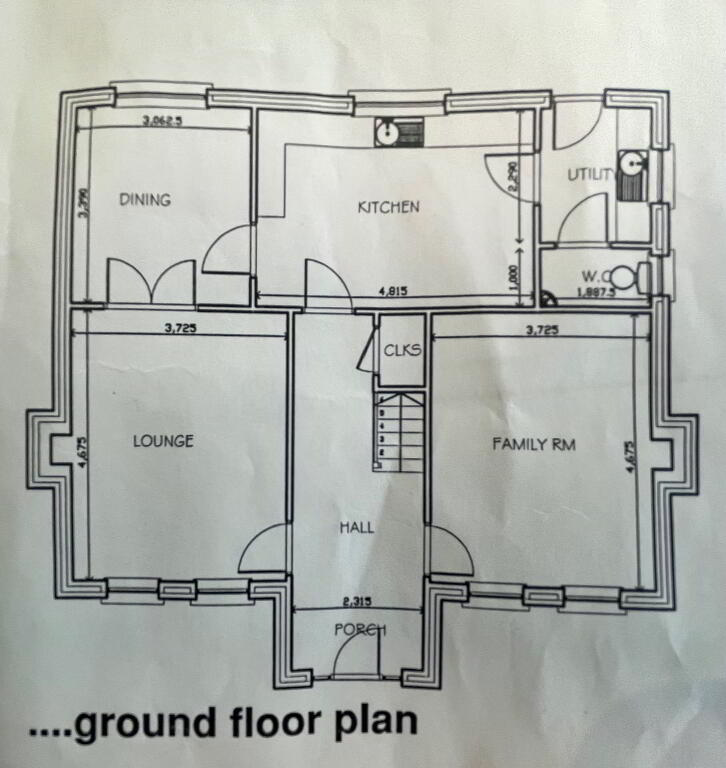 Floorplan 2 of House Type 5, Shanmoy Downs, Eglish, Dungannon