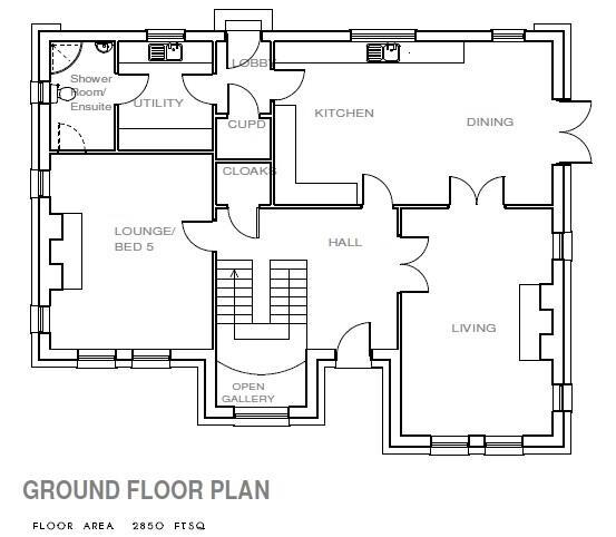 Floorplan 2 of Site 13, Castle Coole Manor, Lough Yoan Road, Enniskillen