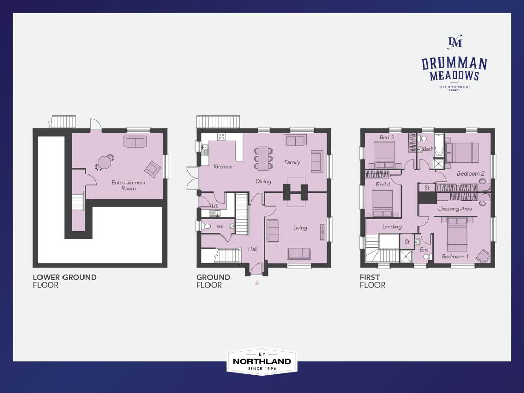 Floorplan 1 of The Mulberry, Drumman Meadows, Portadown Road, Armagh