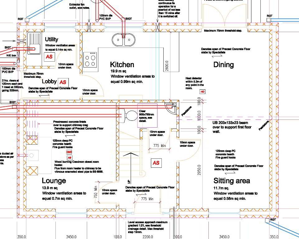 Floorplan 1 of The Bunratty, Castle Glen, Ranfurly Road, Dungannon