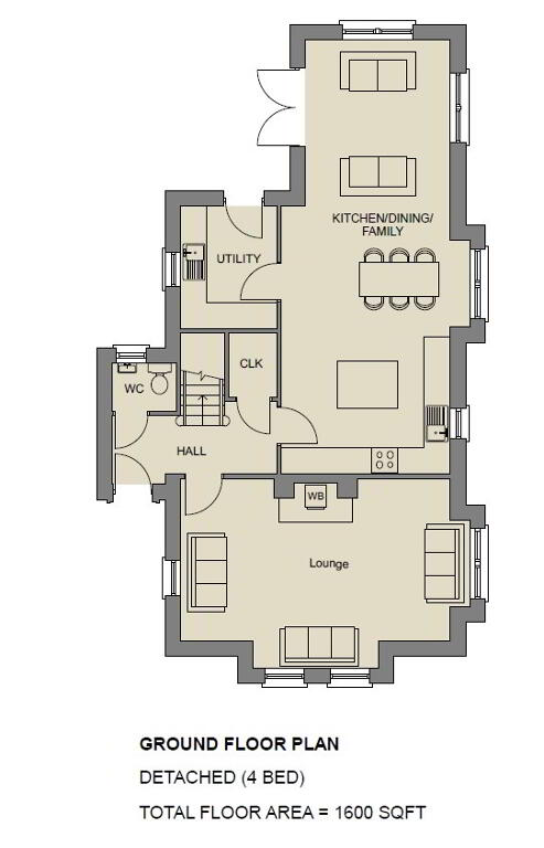 Floorplan 1 of The Diamond, Stoney Manor, Woodside Road, L'Derry