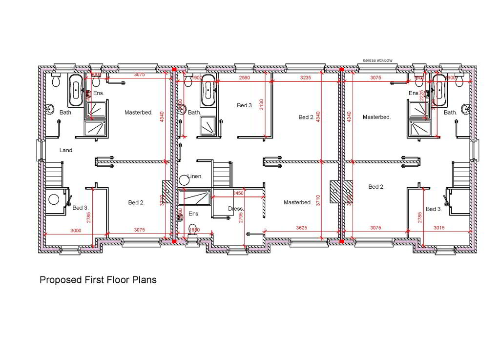 Floorplan 2 of Townhouse, Crewroe Avenue, Armagh