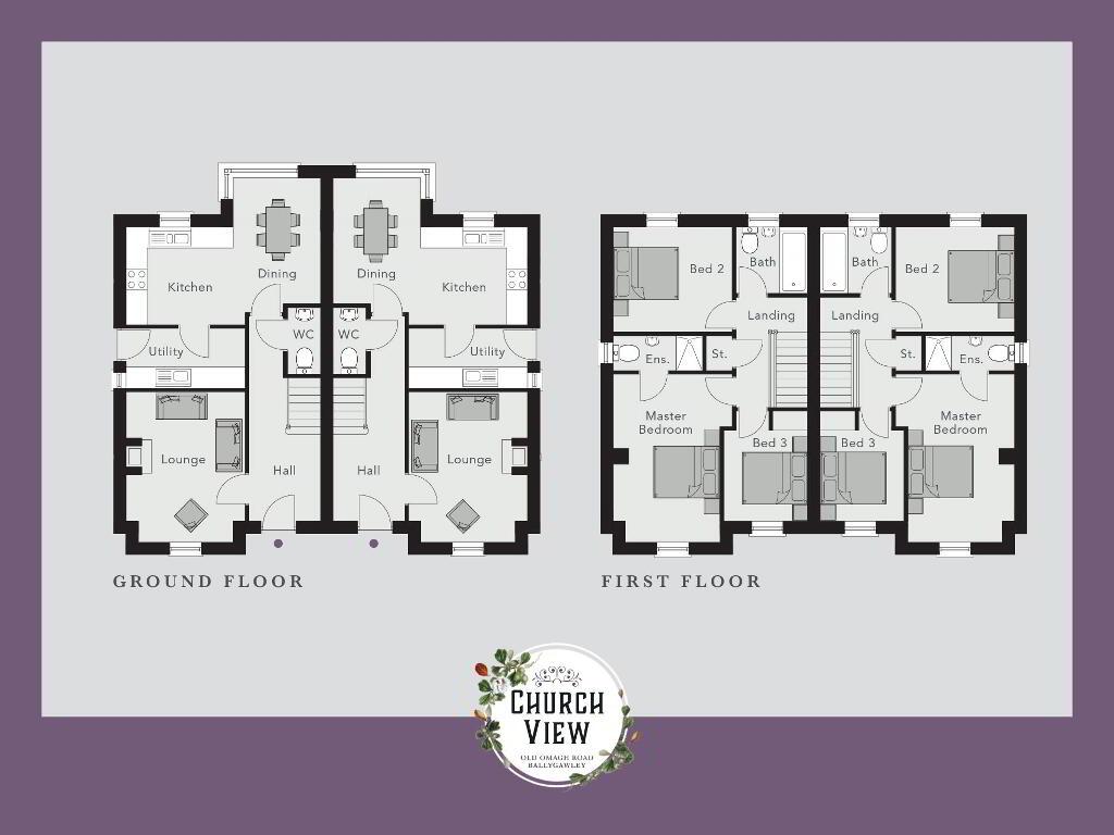 Floorplan 1 of The Carnanelly, Church View, Ballygawley, Omagh