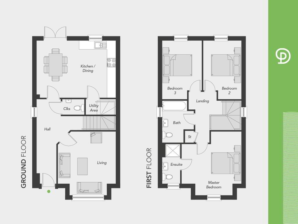 Floorplan 1 of The Alnwick, Drumnagoon Park, Drumnagoon Road, Craigavon
