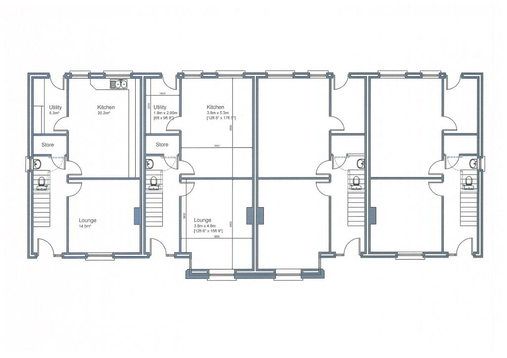 Floorplan 3 of Townhouse, Dundrum Road, Dundrum Road, Dromara