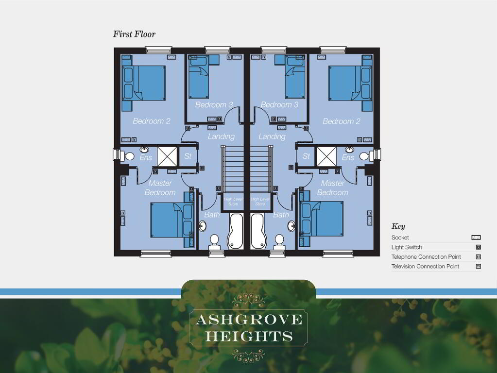 Floorplan 2 of The Fairview, Ashgrove Heights, Ashgrove Heights, Portadown