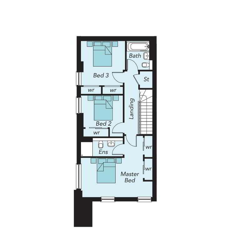 Floorplan 1 of G06, Portland 88, Belfast City Centre, Belfast