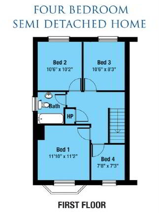 Floorplan 3 of The Dunloughan, Shorelands, Main Road, Cloughey