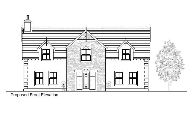Floorplan 1 of Between 93 & 101 Rock Road, Rock Road Detached, Armagh