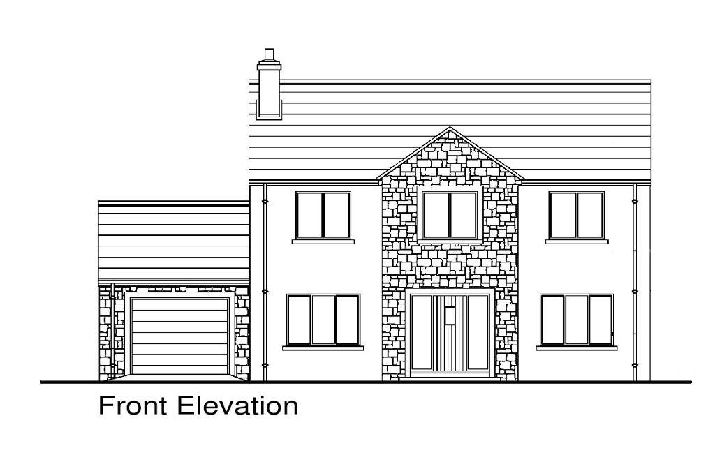 Floorplan 1 of Detached A3, Quiggery Meadows, Tattyreagh Road, Omagh