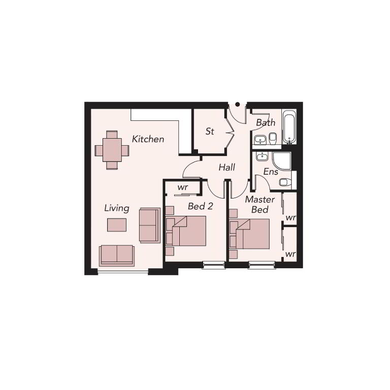 Floorplan 1 of 307, Portland 88, Belfast City Centre, Belfast