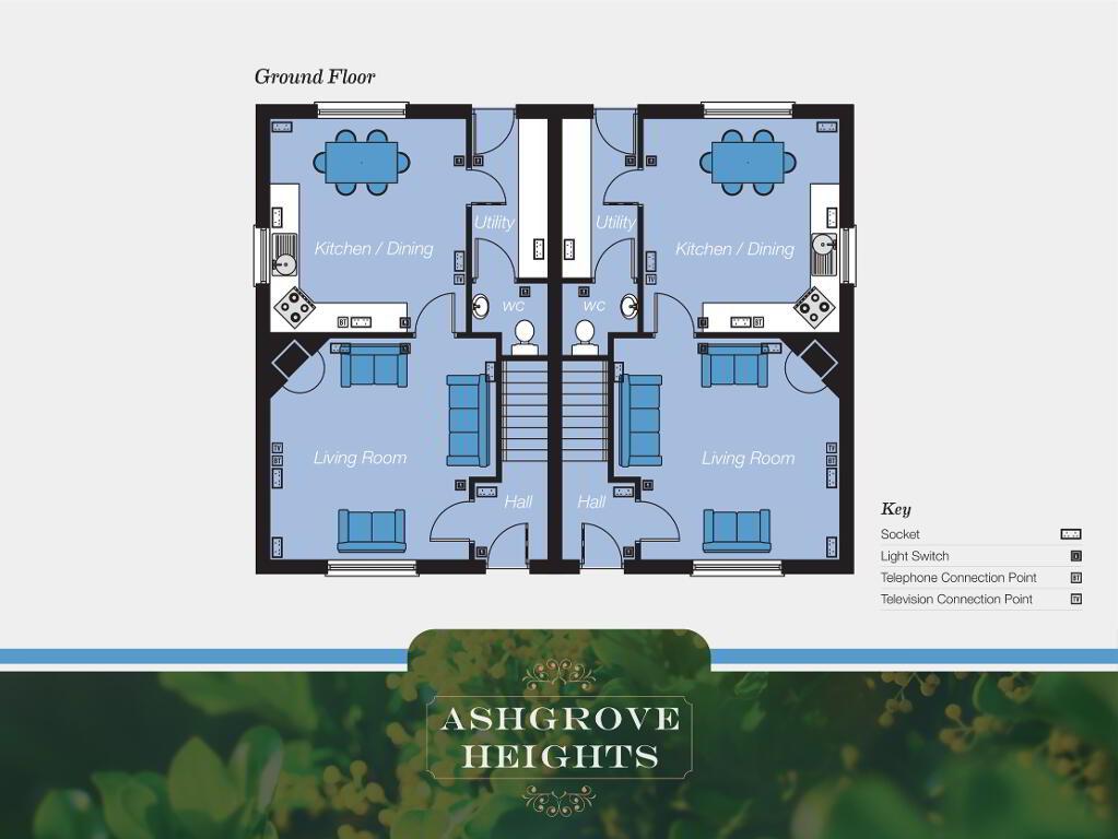 Floorplan 1 of The Fairview, Ashgrove Heights, Ashgrove Heights, Portadown