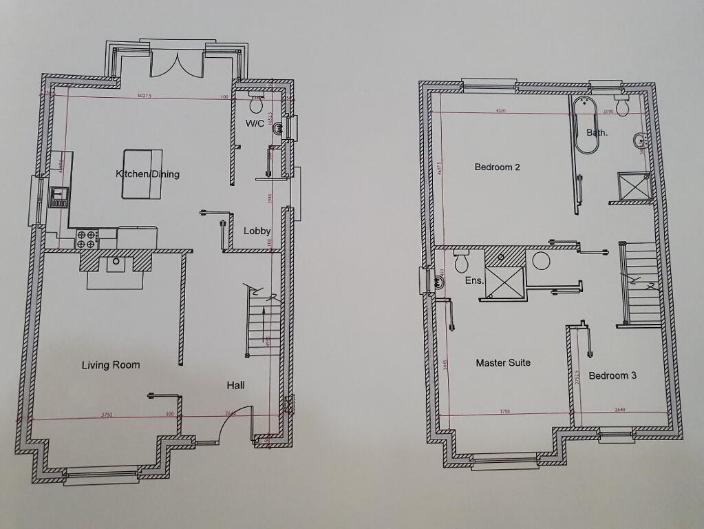 Floorplan 1 of Detached, Strawberry Lane, Strawberry Lane, Killylea