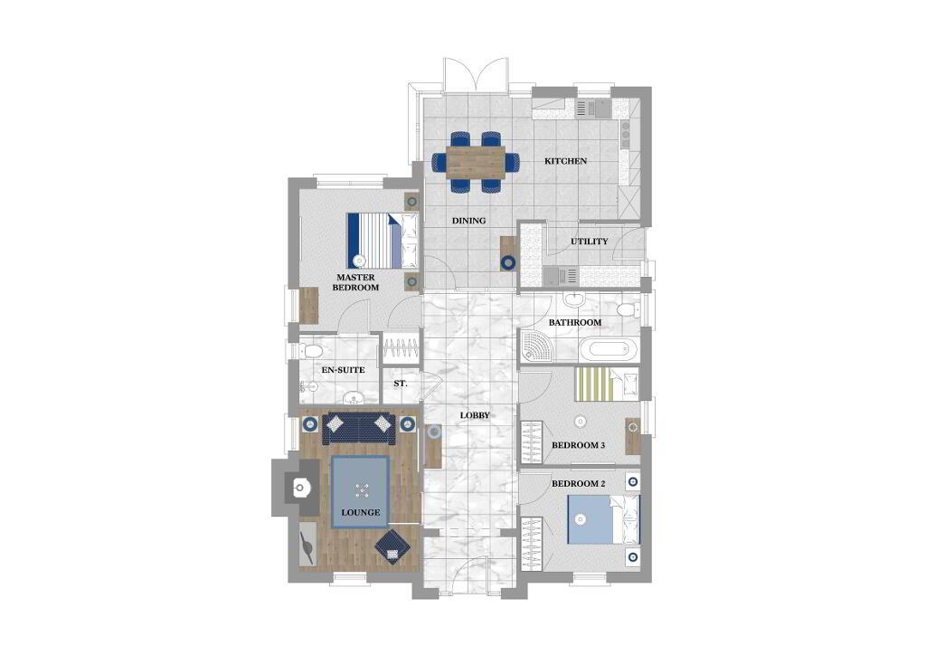 Floorplan 1 of Beechwood, Deanery Demesne, Portadown Road, Armagh
