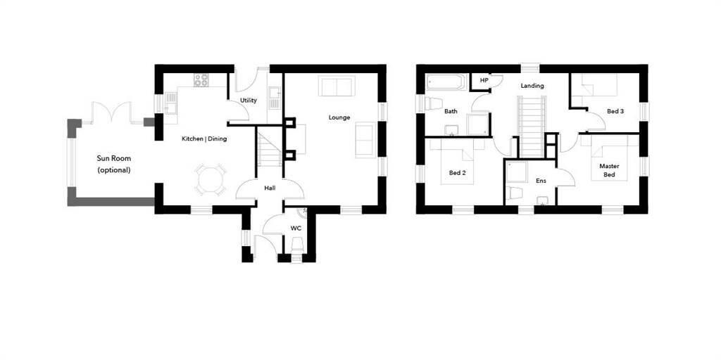 Floorplan 1 of The Millin, Blackrock Hollow, Blair Mayne Road South, Newtownards