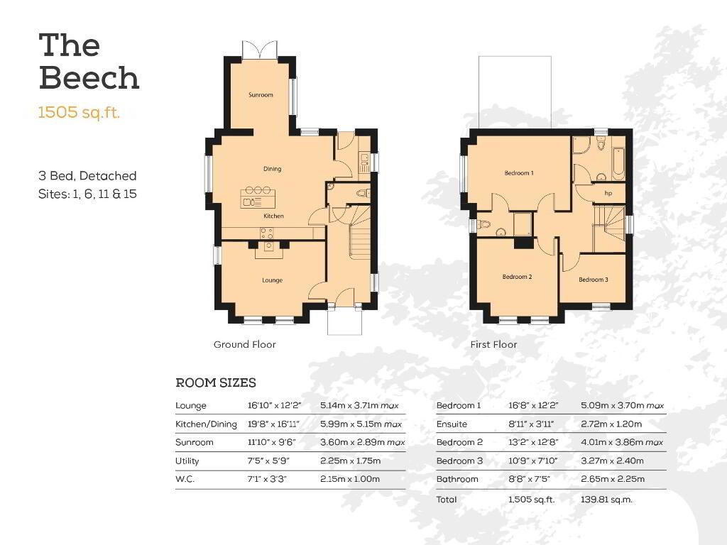 Floorplan 1 of The Beech, Carn Hill, Hilltown Road, Rathfriland