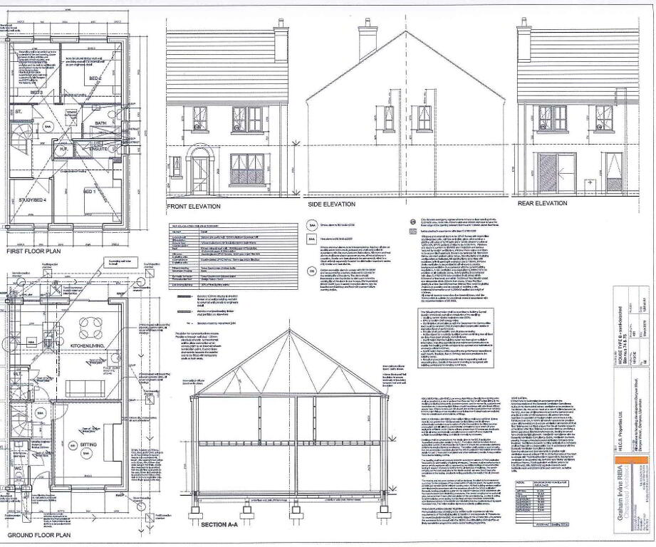 Floorplan 2 of The Devenish 4 Bed Semi, Derryree Wood, Derryree Wood, Lisnaskea